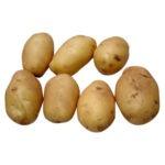 Żółte ziemniaczki