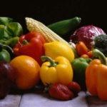 Grillowane warzywa i owoce