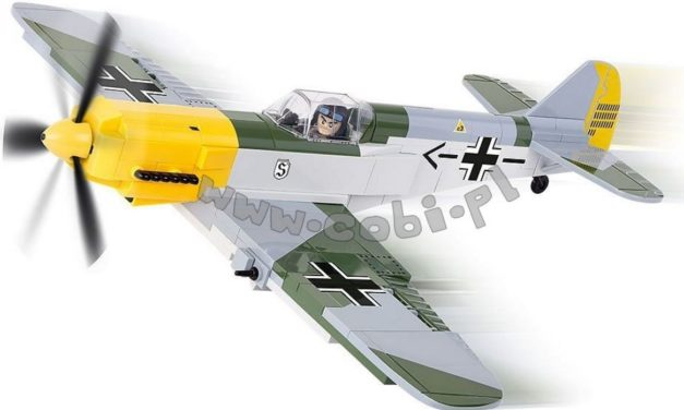 Stwórz swoje własne myśliwce z serią klocków Mała Armia WW2 od COBI