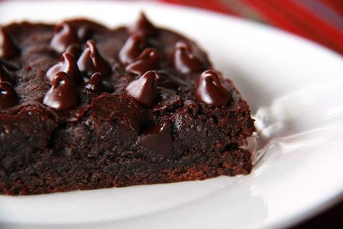 Ciemniejsze ciasto czekoladowe